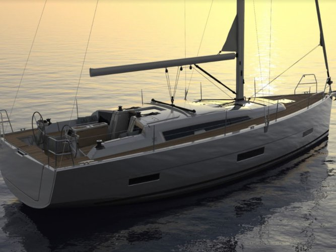 Sail the beautiful waters of Castellammare di Stabia on this cozy Dufour Yachts Dufour 390 Grand Large