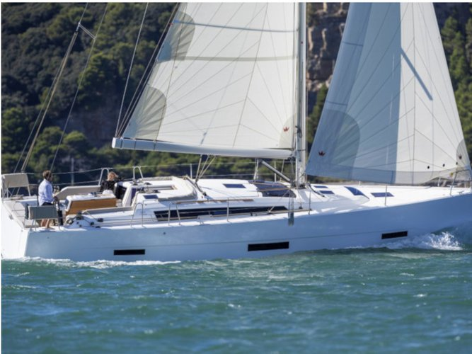 Rent this Dufour Yachts Dufour 430 for a true nautical adventure