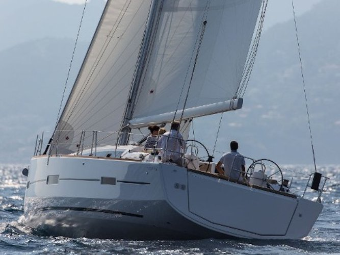 Charter this amazing Dufour Yachts Dufour 460 Grand Large in La Spezia, IT