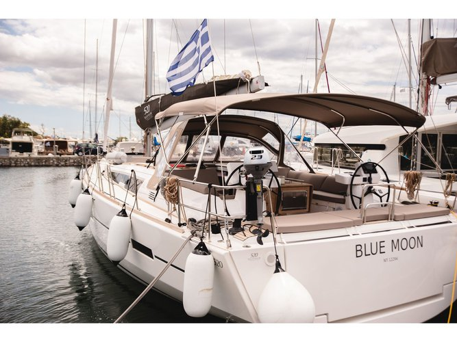 All you need to do is relax and have fun aboard the Dufour Yachts Dufour 520 Grand Large