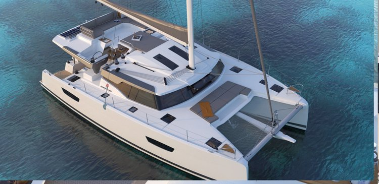 Relax on board our Elba 45 catamaran charter in British Virgin Island