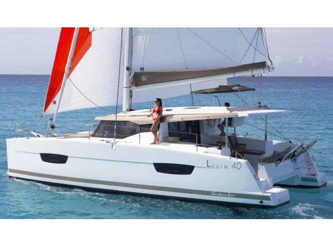 Charter this amazing Fountaine Pajot Lucia 40 in Tivat, ME