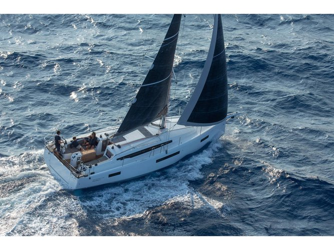 Experience San Vincenzo, IT on board this amazing Jeanneau Sun Odyssey 410