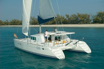 Enjoy luxury and comfort aboard this Florida catamaran rental