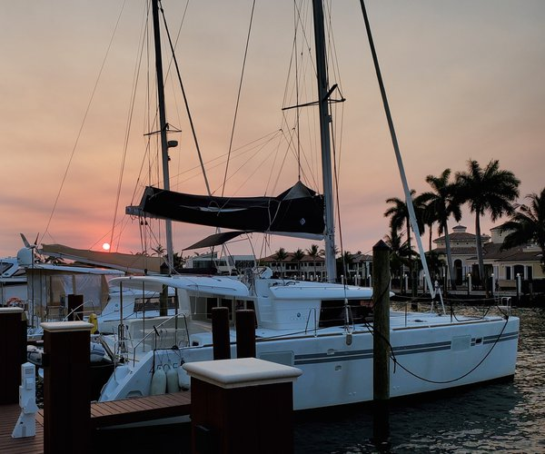 Climb aboard this amazing catamaran for a great experience in Florida!