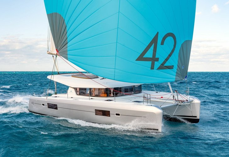 Sail Capo d'Orlando, IT waters on a beautiful Lagoon Lagoon 42