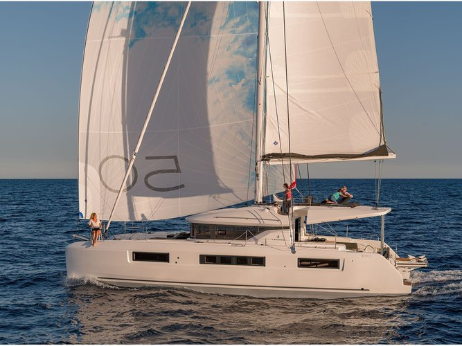Explore Castellammare di Stabia on this beautiful sailboat for rent