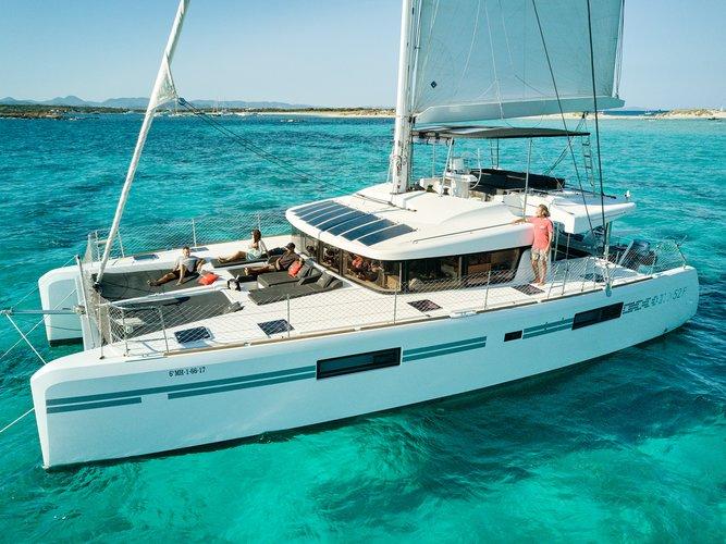 Relax on board our sailboat charter in Ibiza - Sant Antoni de Portmany