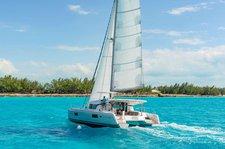 Sailing in British Virgin Islands is a pleasure on this superb Lagoon 42 catamaran