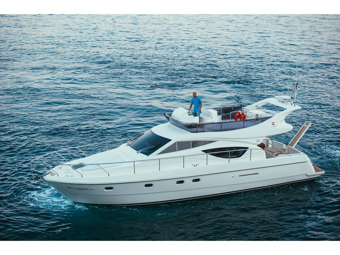 Rent this Ferreti Yachts Ferretti 460 for a true nautical adventure