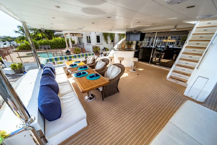 Boat for rent Hargrave 97.0 feet in Turnberry Marina - 19735 Turnberry Way, Aventura, FL 33180,