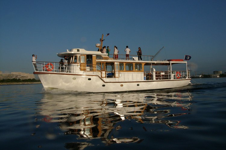 A classic expedition boat