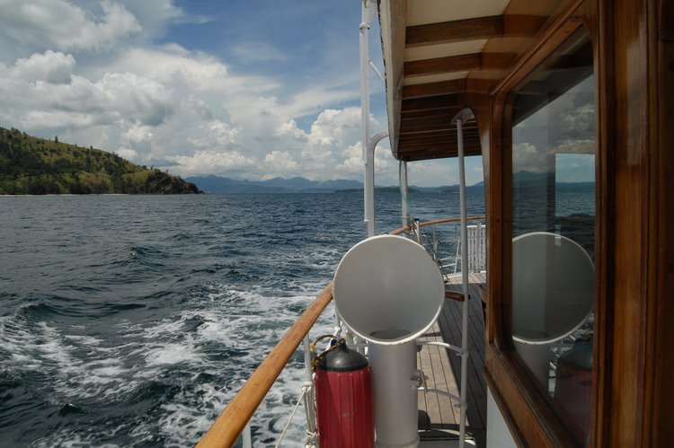 Boating is fun with a Trawler in Puerto Galera