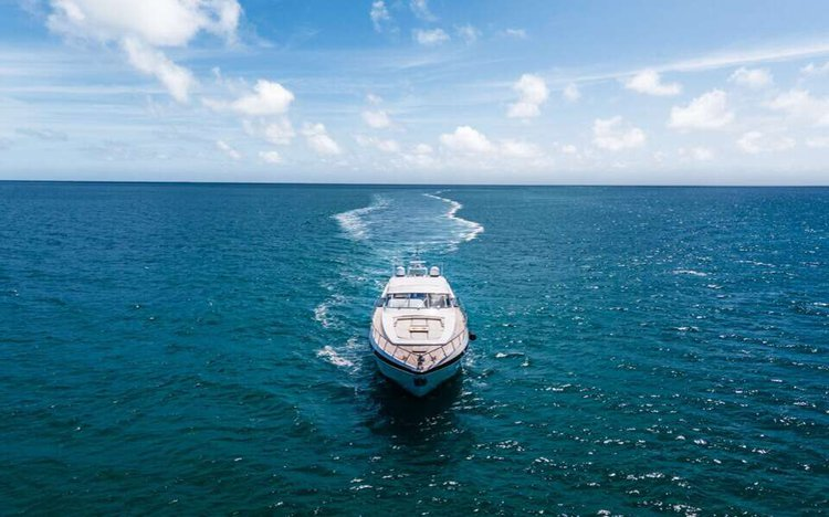 Motor yacht boat rental in 5th Street Marina, FL