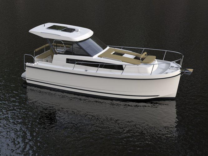 Discover Węgorzewo in style boating on this motor boat rental