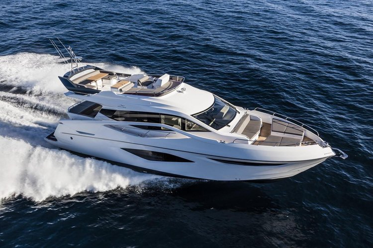Modern, Clean, & Elegant. Meet the 65' Numarine