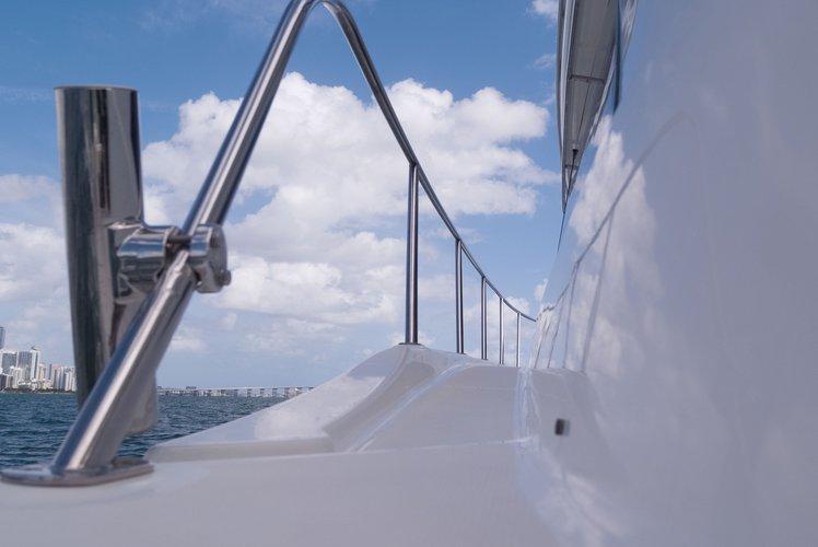 Boat for rent Meridian 50.0 feet in Lummus Park, Miami River, FL