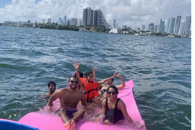 Motor boat boat rental in Sea Isles Marina Downtown Miami, FL