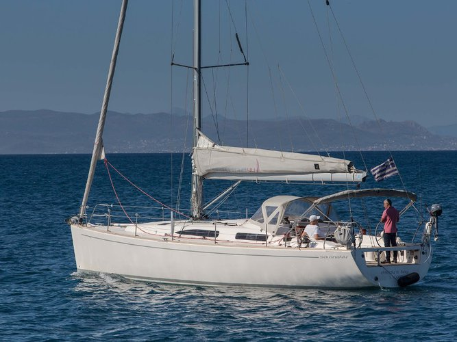 Climb aboard this AD Boats Salona 44 Performance for an unforgettable experience