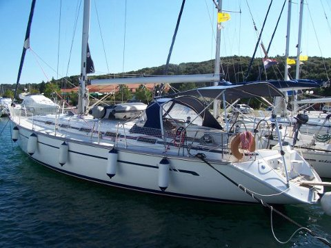 Take this Bavaria Yachtbau Bavaria 49 for a spin!