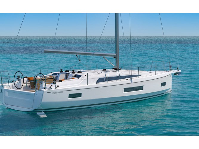 Experience Lavrion, GR on board this amazing Beneteau Oceanis 40.1