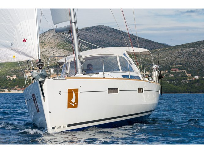 Take this Beneteau Beneteau Oceanis 45 for a spin!