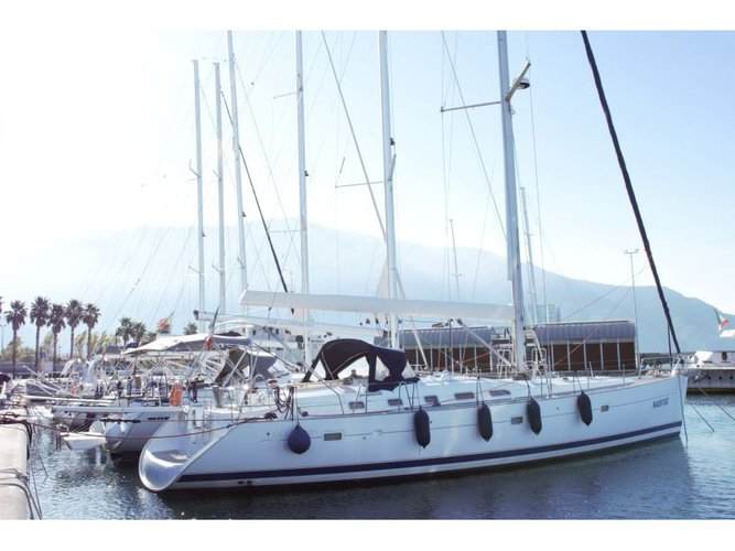 Discover Castellammare di Stabia in style boating on this sailboat rental