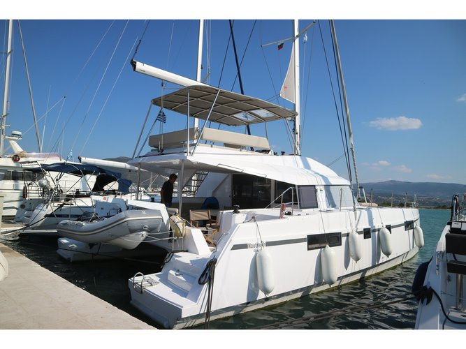 Sail Lefkada, GR waters on a beautiful Catamarans Nautitech Nautitech 46 Fly