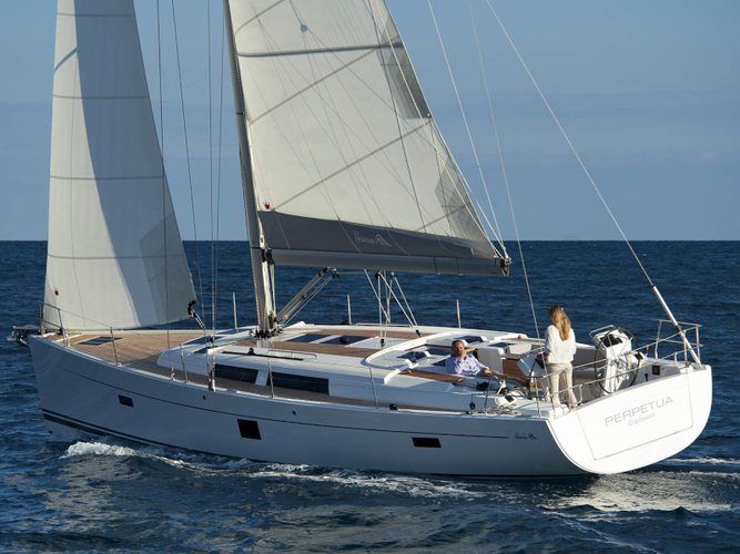 Experience Tallinn, EE on board this amazing Hanse Yachts Hanse 445