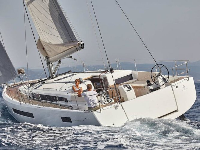 Rent this Jeanneau Sun Odyssey 490 for a true nautical adventure