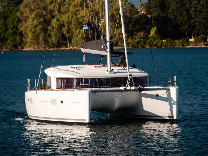 Rent this Lagoon Lagoon 400 S2 for a true nautical adventure