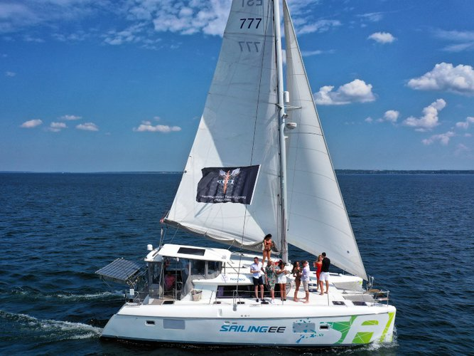 The best way to experience Tallinn is by sailing