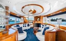 The Blue Diamond - 70' Azimut Yacht in Miami Beach