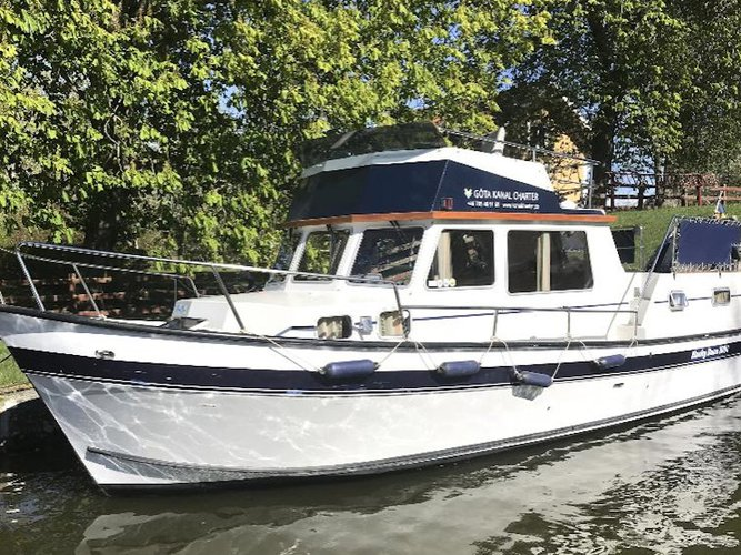 All you need to do is relax and have fun aboard the  Husky Dane