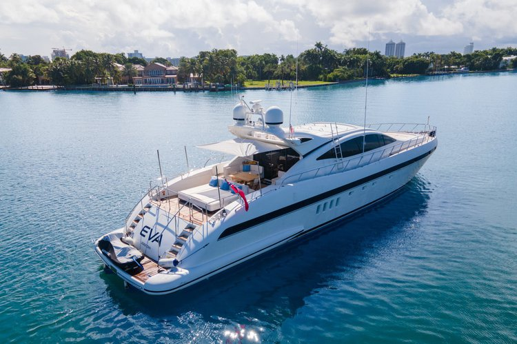 Boat for rent Mangusta 92.0 feet in Fountain Blue Marine,