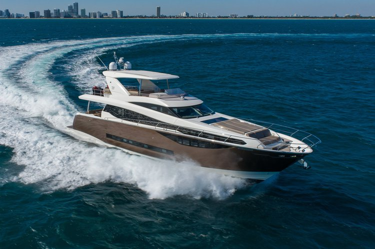 Motor yacht boat rental in Turnberry Marina - 19735 Turnberry Way, Aventura, FL 33180, FL