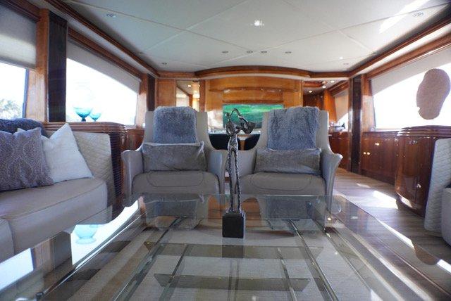 Mega yacht boat rental in island Gardens Marina, FL