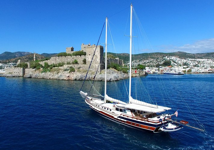 Discover Bodrum surroundings on this Gulet Custom Made boat