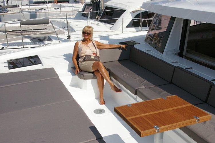 Catamaran boat rental in Harbour View Marina, Bahamas