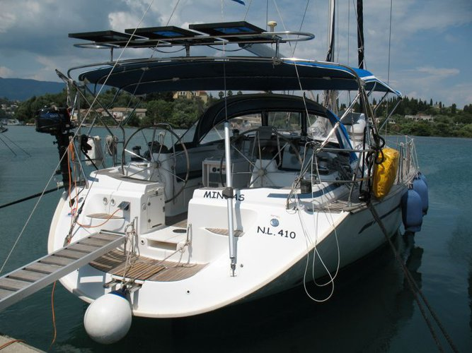 Enjoy luxury and comfort on this Bavaria Yachtbau Bavaria 49 in Corfu