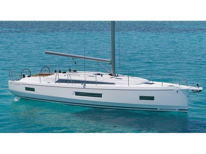 Jump aboard this beautiful Beneteau Oceanis 40.1