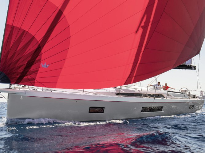 Sail Capo d'Orlando, IT waters on a beautiful Beneteau Oceanis 51.1