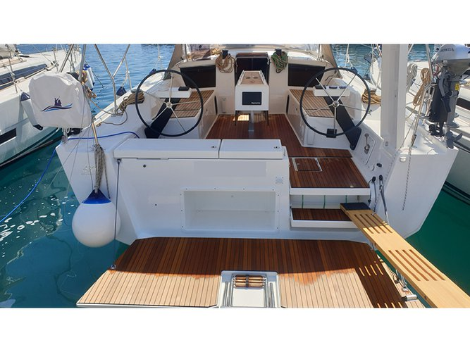 Enjoy Kaštel Gomilica, HR to the fullest on our comfortable Dufour Yachts Dufour 430 Grand Large