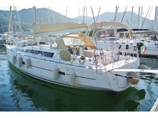 Charter this amazing Dufour Yachts Dufour 460 Grand Large in La Spezia, IT