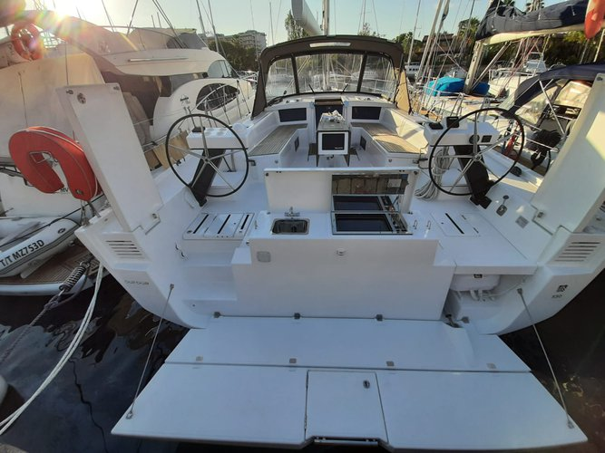 Rent this Dufour Yachts Dufour 530 Grand Large for a true nautical adventure