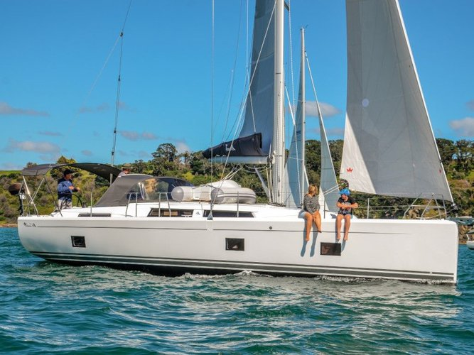 Get on the water and enjoy  in style on our Hanse Yachts Hanse 418