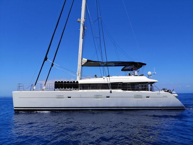 Enjoy Lefkada, GR to the fullest on our comfortable Lagoon Lagoon 620(GEN,AC,WATERMAKER)