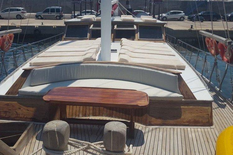 Discover Fethiye surroundings on this Custom Gulet wodden boat