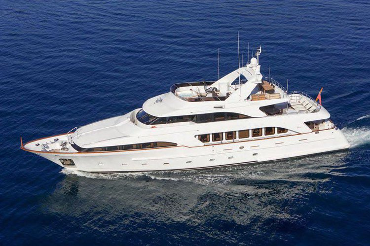 Explore France on our comfortable mega yacht for charter