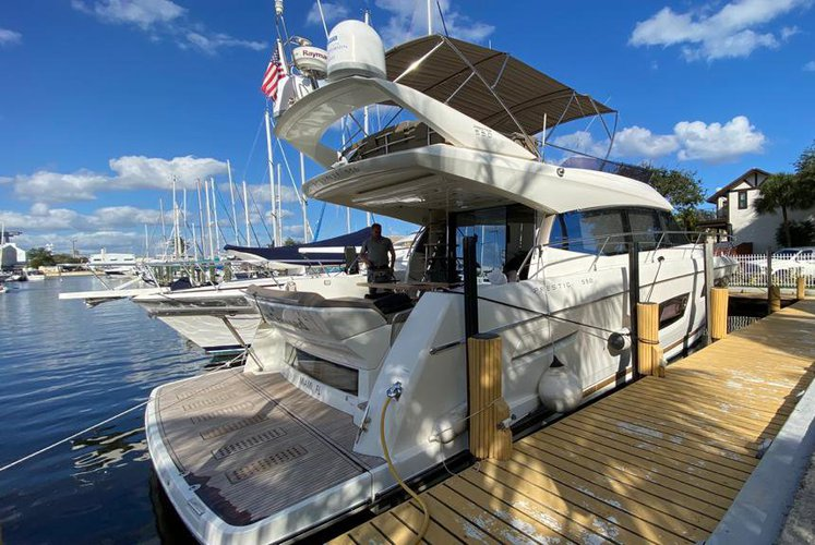 Boat for rent Prestige 550 Flybridge 58.0 feet in MBM - Miami Beach Marina, FL